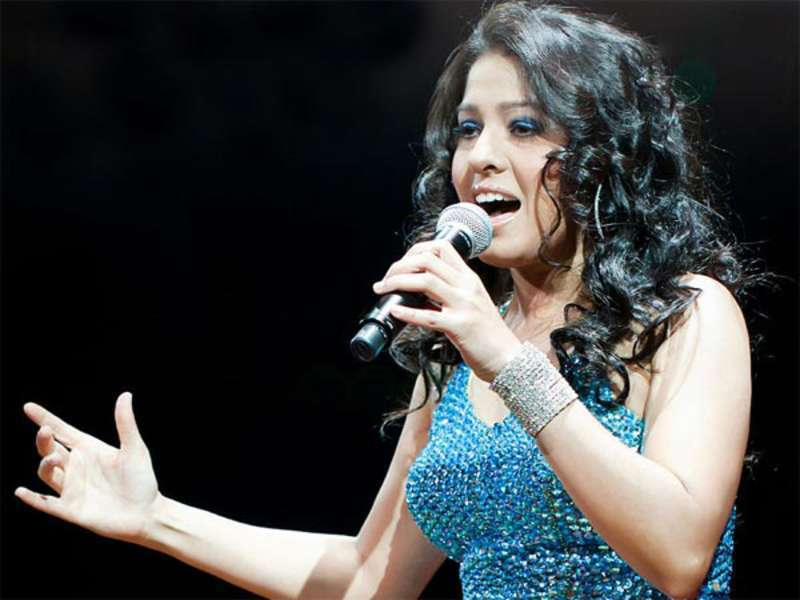 Bollywood Spectacle Sunidhi Chauhan live in concert Abu Dhabi