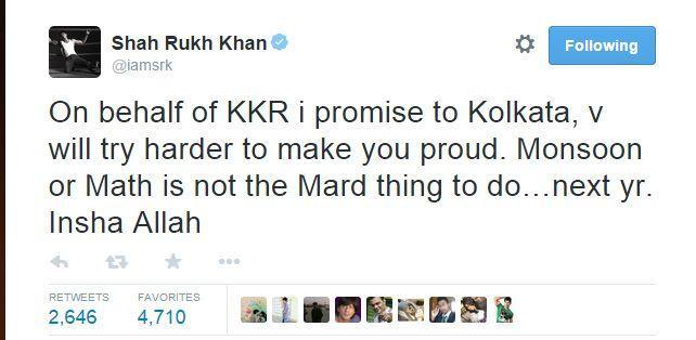 SRK on Twitter