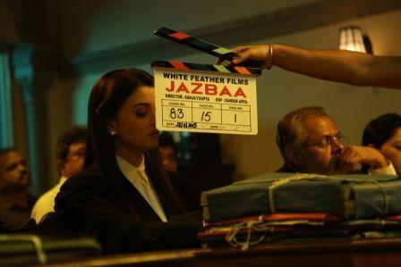 FIRST LOOK: Aishwarya Rai Bachchan in Jazbaa!