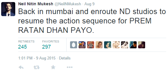 REVEALED: Did Neil Nitin Mukesh Give Away the Climax of Salman's Prem Ratan Dhan Paayo?