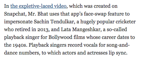 SHOCKING! New York Times Calls Lata Mangeshkar 'A So-Called Playback Singer'!