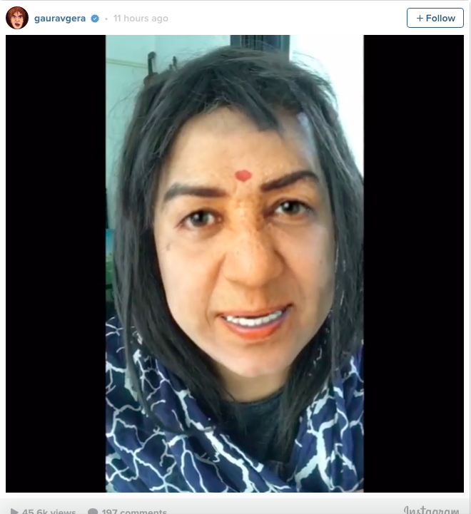 OMG! After Tanmay Bhat Now Gaurav Gera Mimics Lata Mangeshkar in a Video