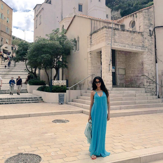 Who Was Vacationing With Mallika Sherawat in Corsica?