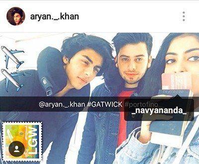 SRK's Son Aryan Khan and Big B's Granddaughter Navya Naveli Ignore Each Other At Mumbai Airport?