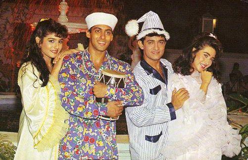Aamir Khan, Salman Khan Weren't on Talking Terms During Andaz Apna Apna, Reveals Raveena Tandon