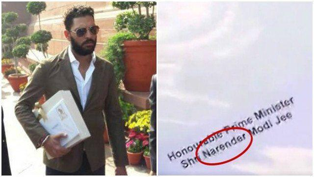 Yuvraj Singh and Hazel Keech Get The Prime Minister's Name Wrong?