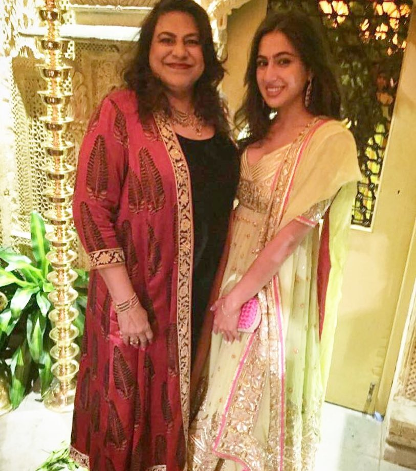 Did Sara Ali Khan Repeat The Same Outfit She Wore to Saif and Kareena's Wedding Reception 5 Years Ago?