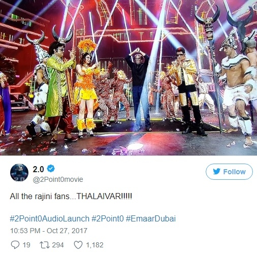 Here's Everything That Happened at Rajinikanth And Akshay Kumar's Spectacular Event in Dubai