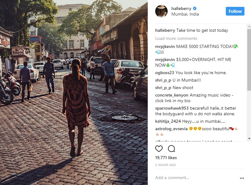 Do You Know Halle Berry Is In Mumbai Right Now?