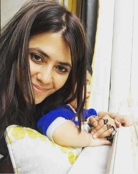 PICS: Have You Seen These Adorable Selfies of Ekta Kapoor And Laksshya Yet?