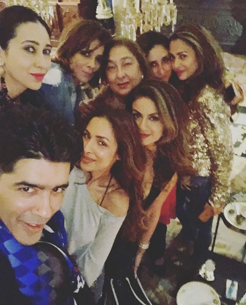Inside Pics: Kareena Kapoor Khan And Her Girls Partying it up in The City