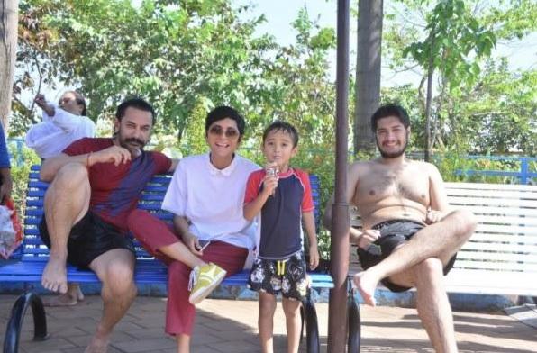 PICS: Aamir Khan Celebrates Son Azad's 6th Birthday at a Theme Park