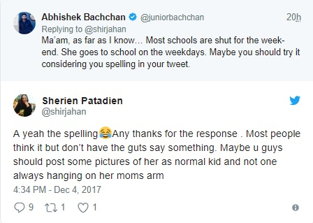 Abhishek Bachchan's Fitting Reply to a Fan Who Questioned Aaradhya Bachchan's Upbringing