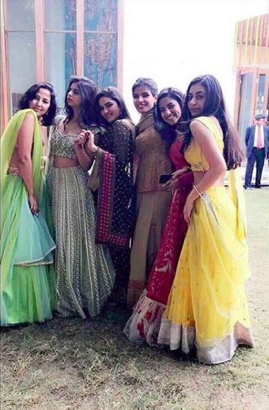 PICS: Suhana Khan Looks Like a Dream at Her Cousin's Wedding