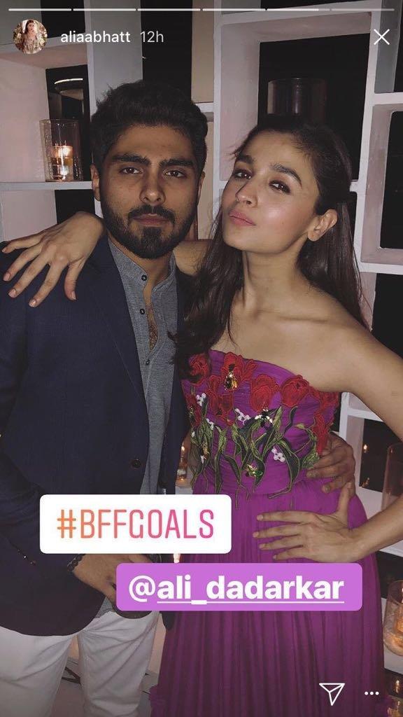 Is Alia Bhatt Growing Closer to Ex-Boyfriend Ali Dadarkar?