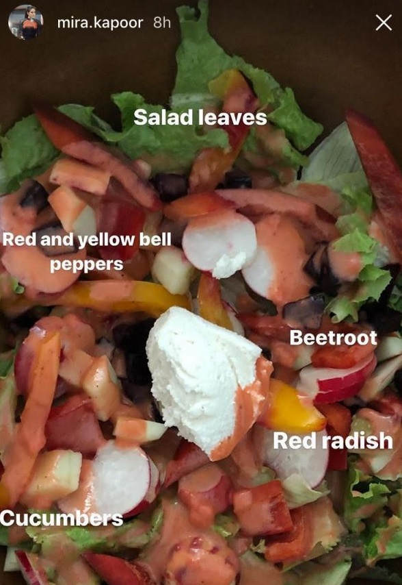 Mira Rajput Reveals Her Fitness Secret And Her Favourite Salad Recipe