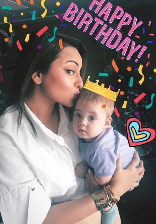 Inside Yash and Roohi Johar's 1st Birthday Bash