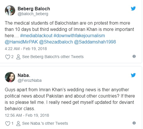 Hilarious! Imran Khan's Third Marriage Is Sending Twitter Into a Frenzy