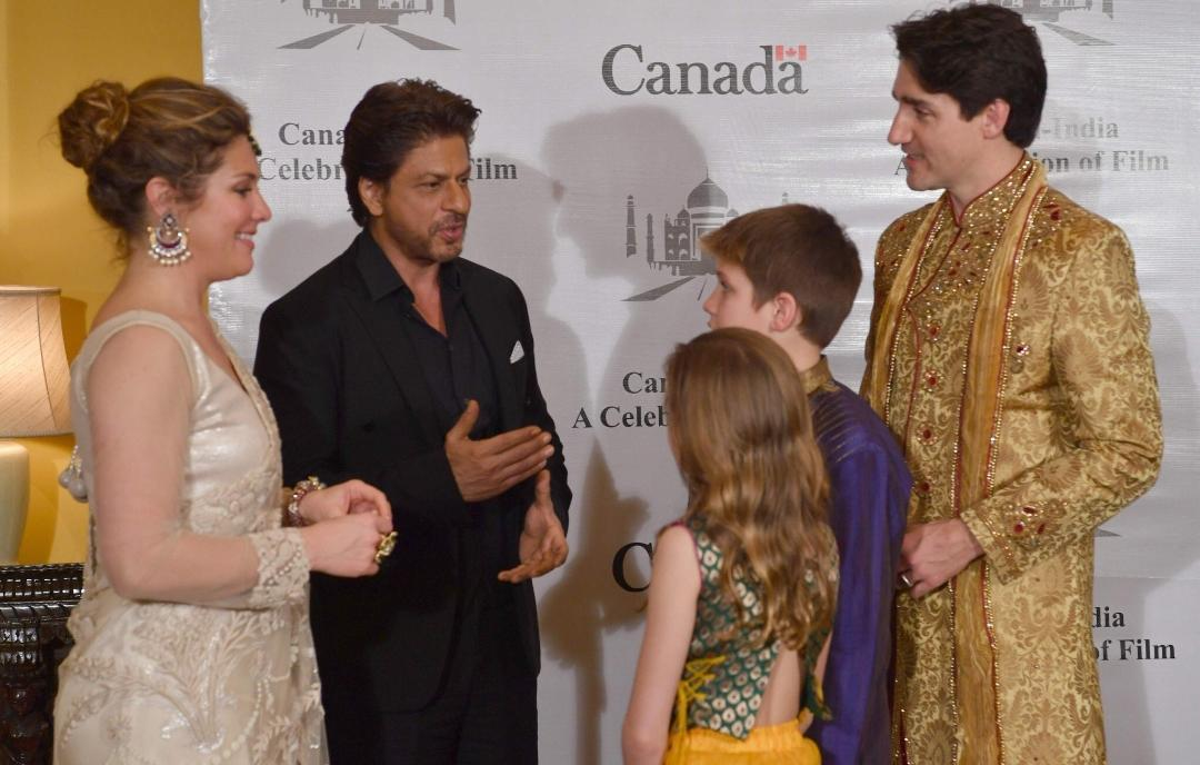 Here's What Happened When Shah Rukh Khan Met Canadian PM Justin Trudeau