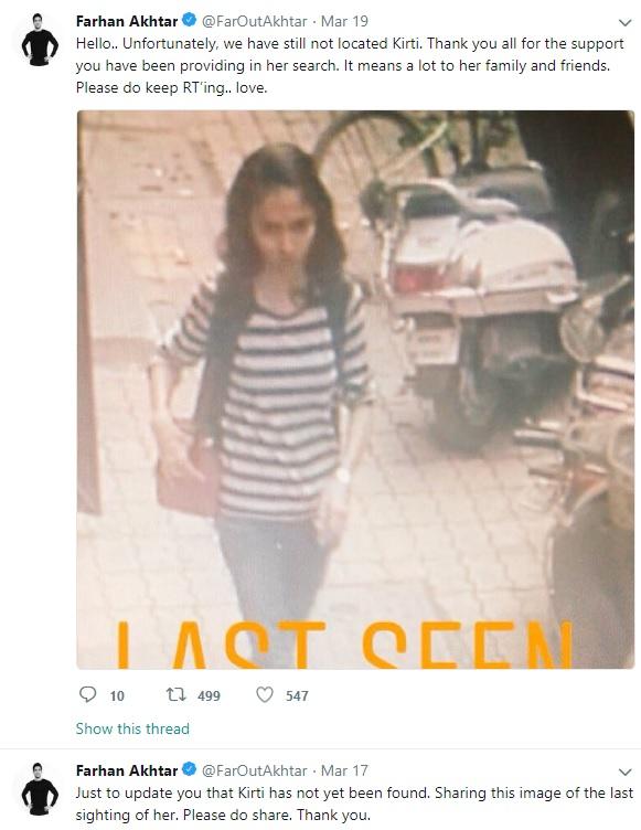 Employee From Farhan Akhtar's Ex-Wife's Salon Goes Missing