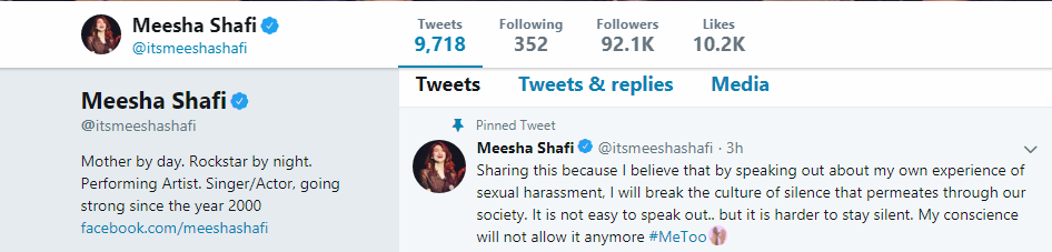 Ali Zafar Accused of Sexual Harassment by Meesha Shafi – Pakistan's Biggest #Metoo Moment Arrives