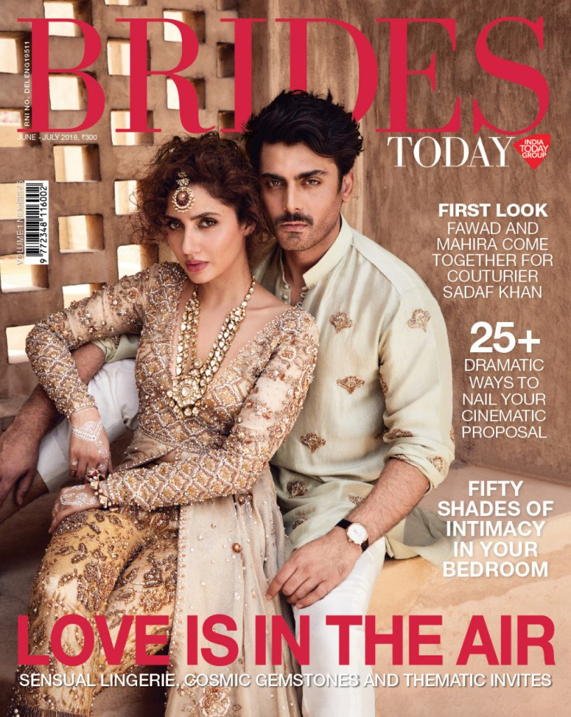 PIC: Fawad Khan and Mahira Khan Come Together For a Magazine Cover and We Just Can't Stop Staring