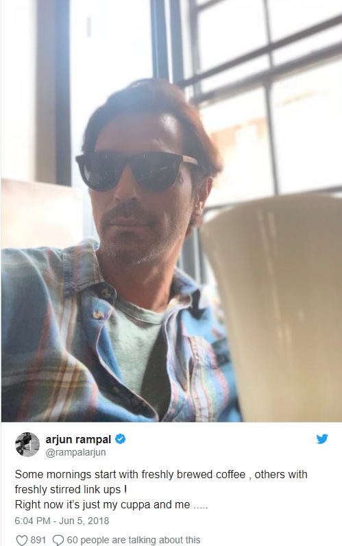 Arjun Rampal Clears The Air About Link-up Rumours Post His Split With Wife of 20 Years Mehr Jesia
