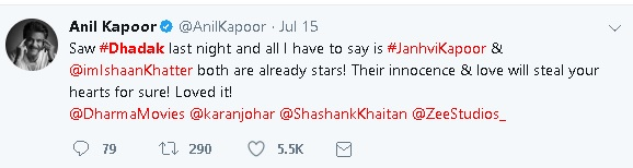 'Dhadak' Movie Review: Here's What Celebrities Have to Say About Janhvi Kapoor's Debut Film