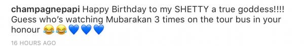 Guess Who Has Watched Athiya Shetty's Mubarakan Thrice? Rapper Drake!
