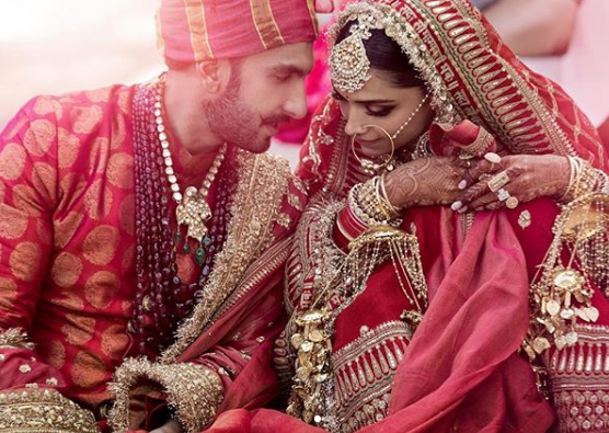 RELEASED! This is the First Official Picture of Newlyweds Ranveer Singh and Deepika Padukone