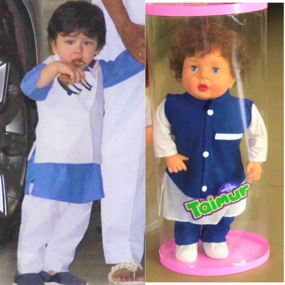Saif Ali Khan REACTS To Taimur Doll