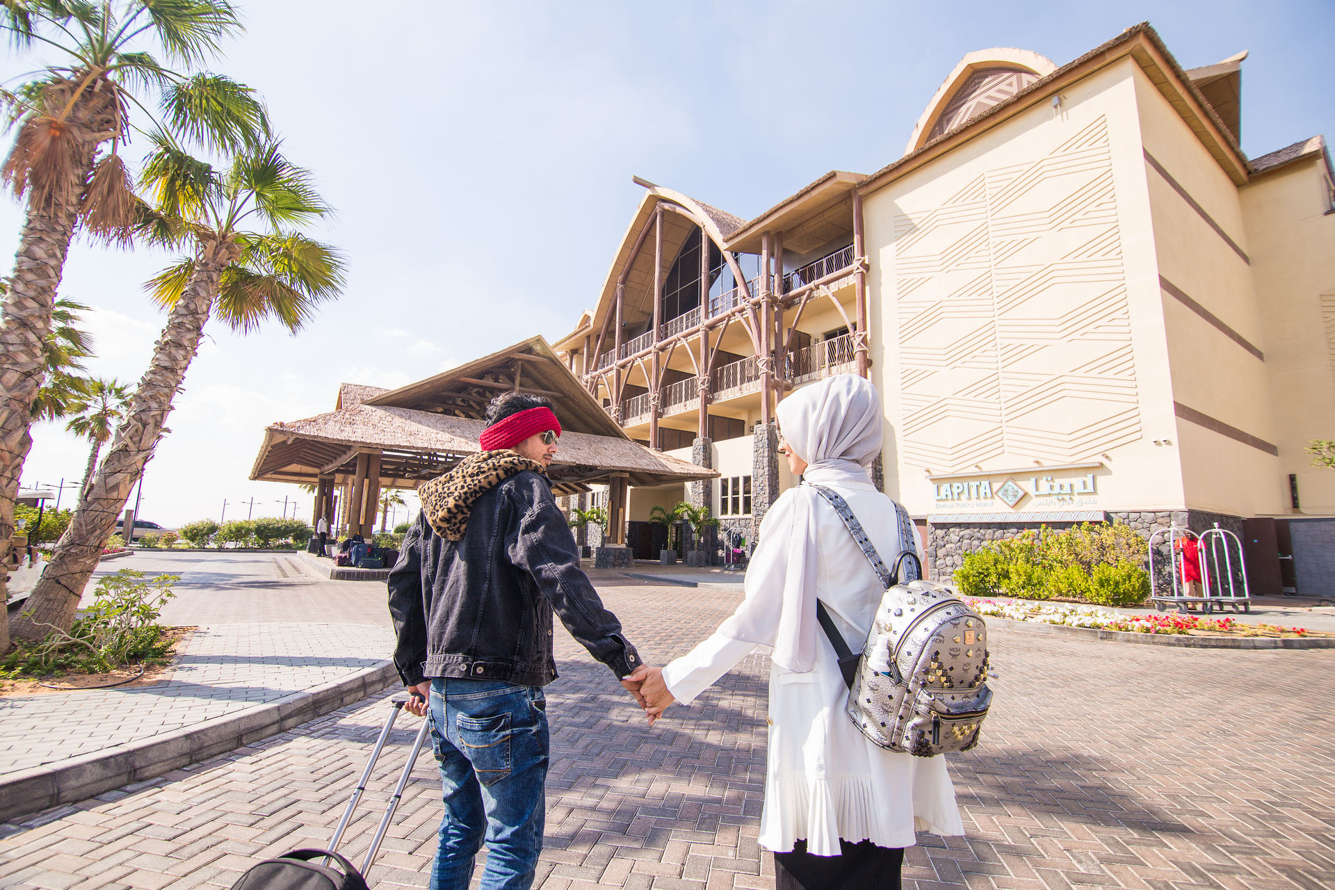 Dubai Influencers Ajmal and Jumana Khan Went on A Spacation. This is Their Diary