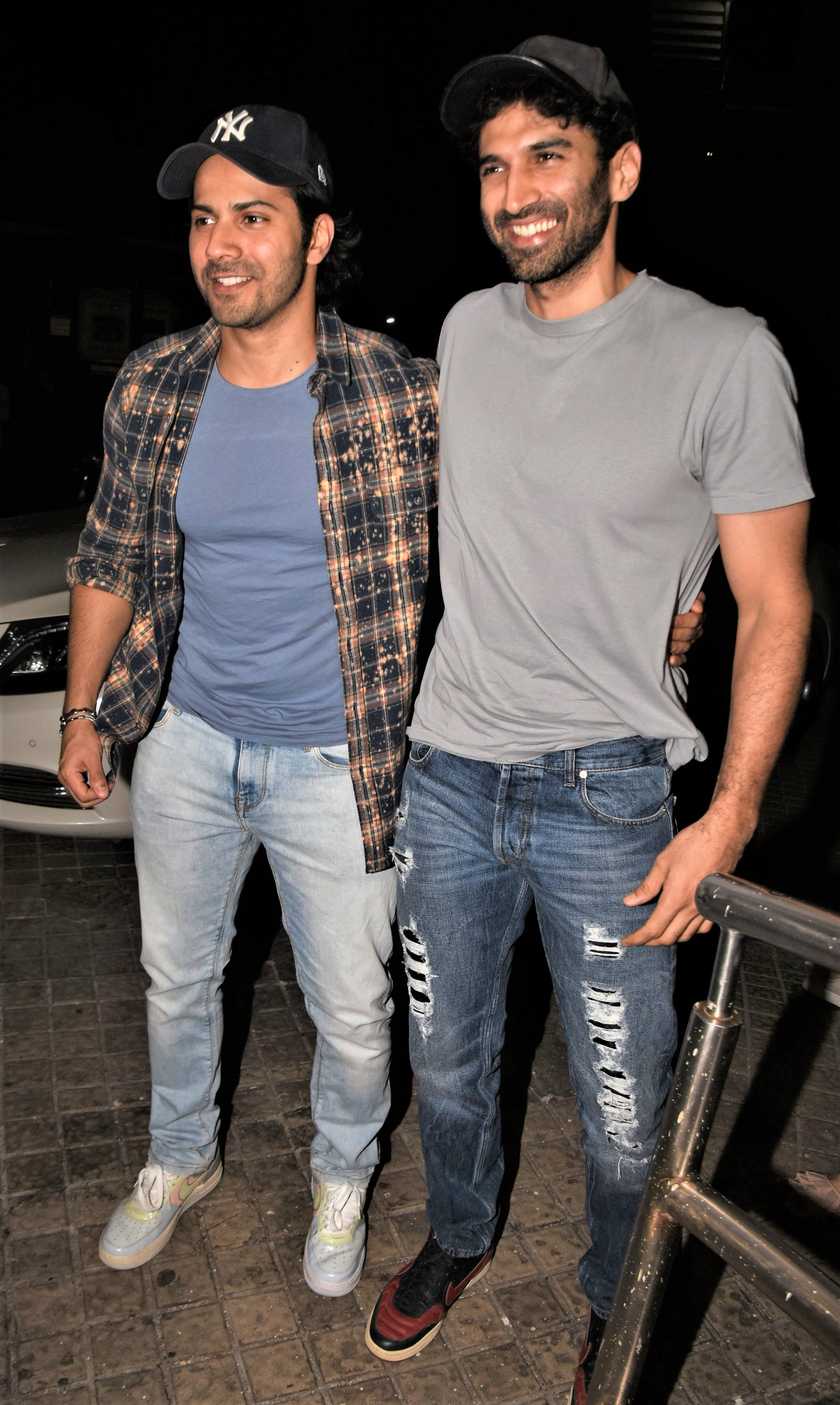 Star Spotting: Varun Dhawan-Aditya Roy Kapur Hang Out, Ishaan Khatter Steps Out For A Quiet Lunch and Nushrat Bharucha Papped!