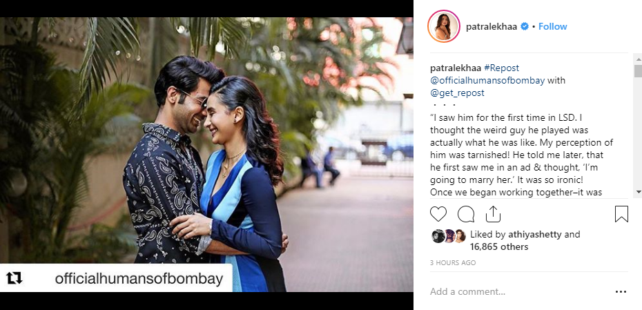 'He Ran All the Way from the Airport to Juhu for Me': What Rajkummar Rao Did For the Love of his Life