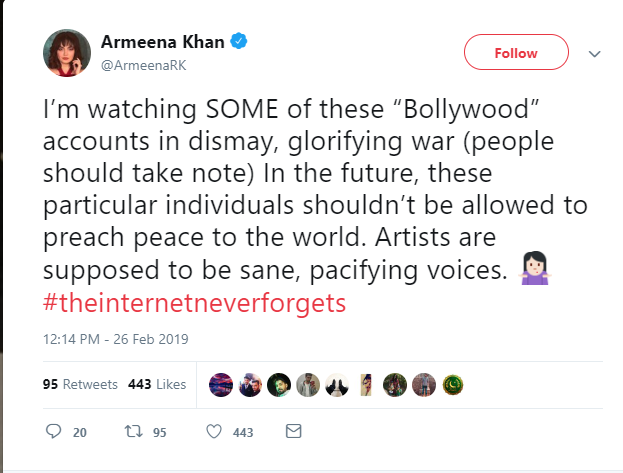#IndiaStrikes: Mixed Reaction from Pakistani Celebs as Bollywood Celebs Go All Out