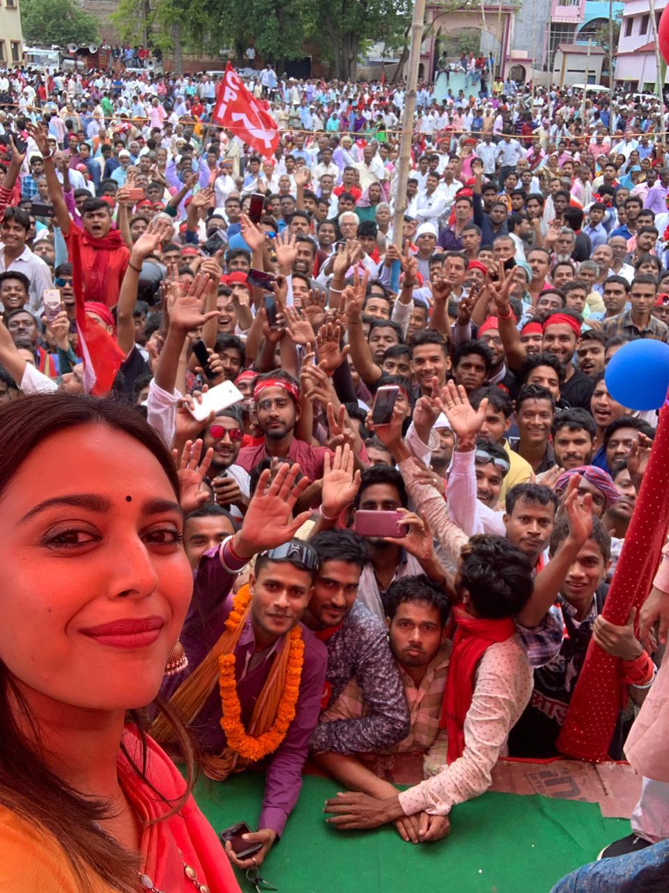 Swara Bhaskar's 'Political' Birthday In Bihar
