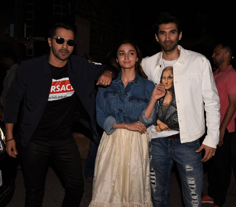 Alia Bhatt, Varun Dhawan, Aditya Roy Kapoor And More: Celebs Attend Special 'Kalank' Screening