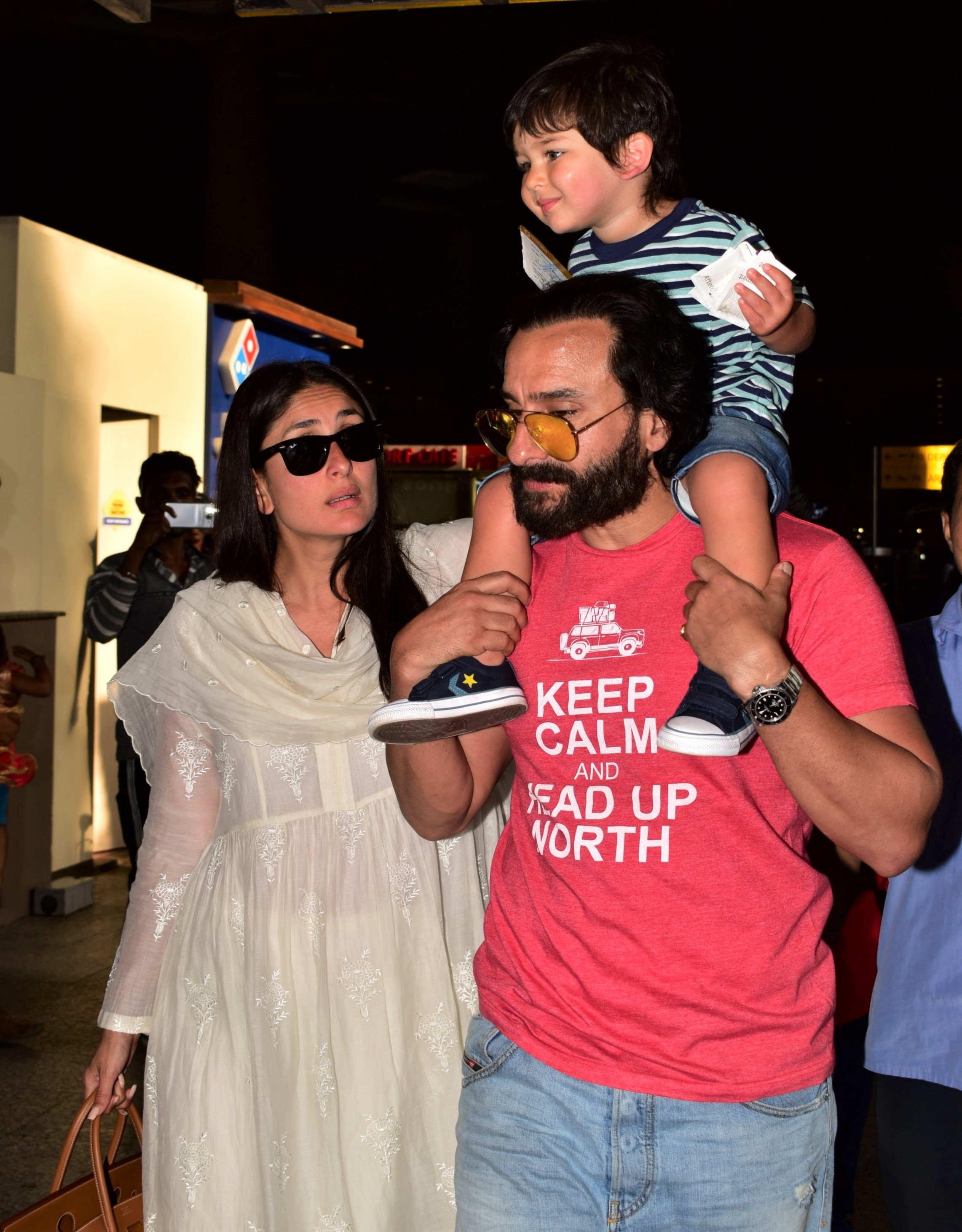 Taimur Ali Khan Is All Smiles With Dad Saif