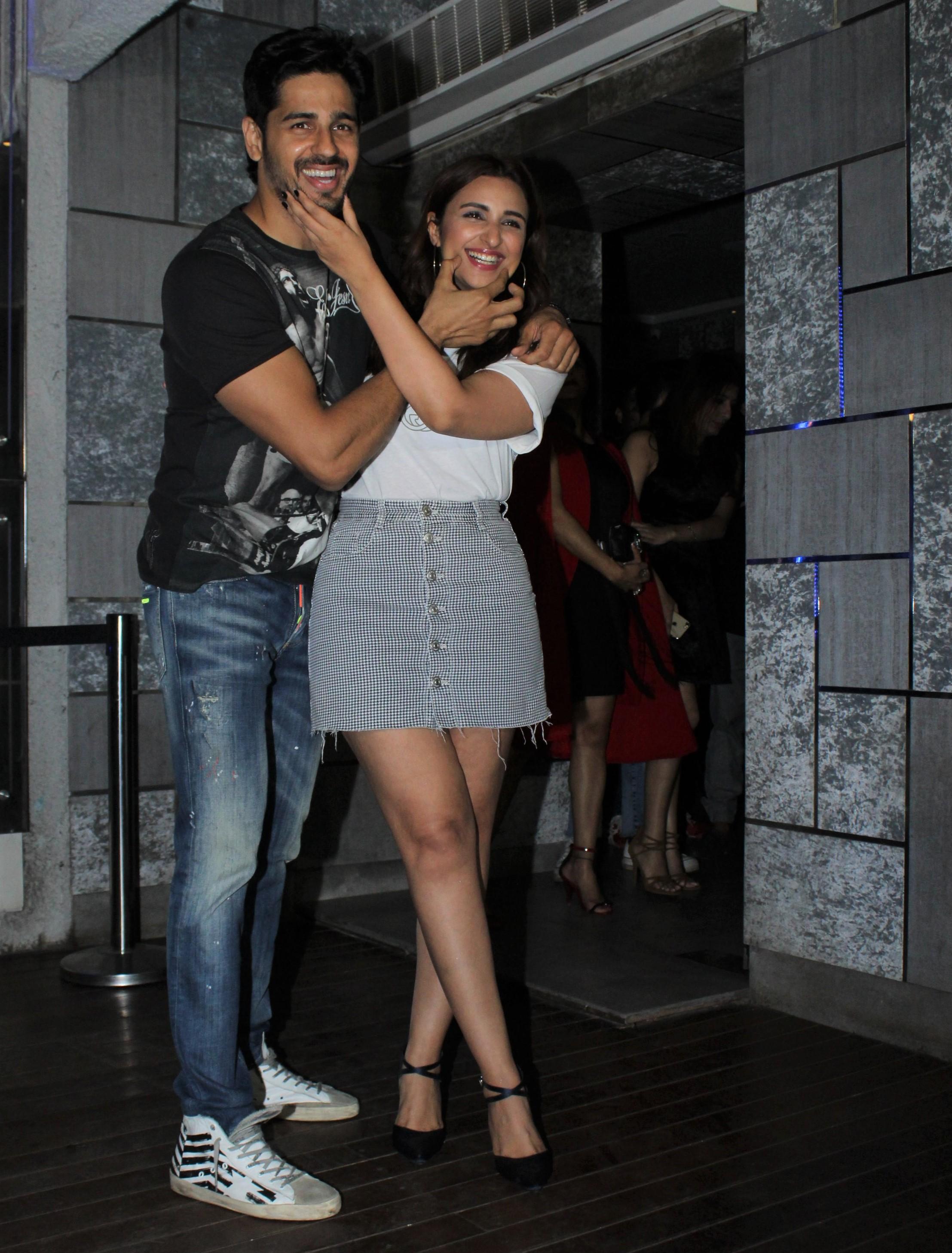 Sidharth Malhotra and Parineeti Chopra Wrap Up 'Jabariya Jodi'!