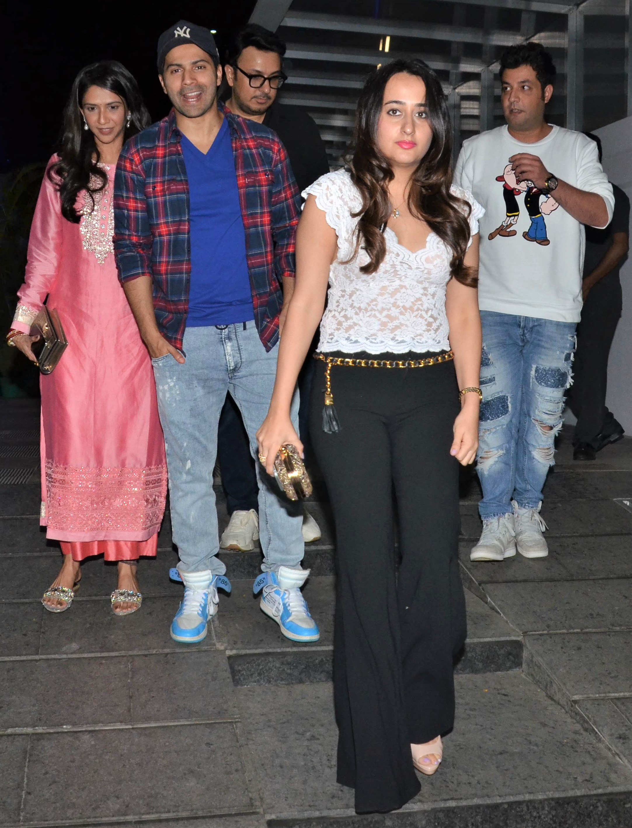 Varun Dhawan and Natasha Dalal Have A Group Date Night!