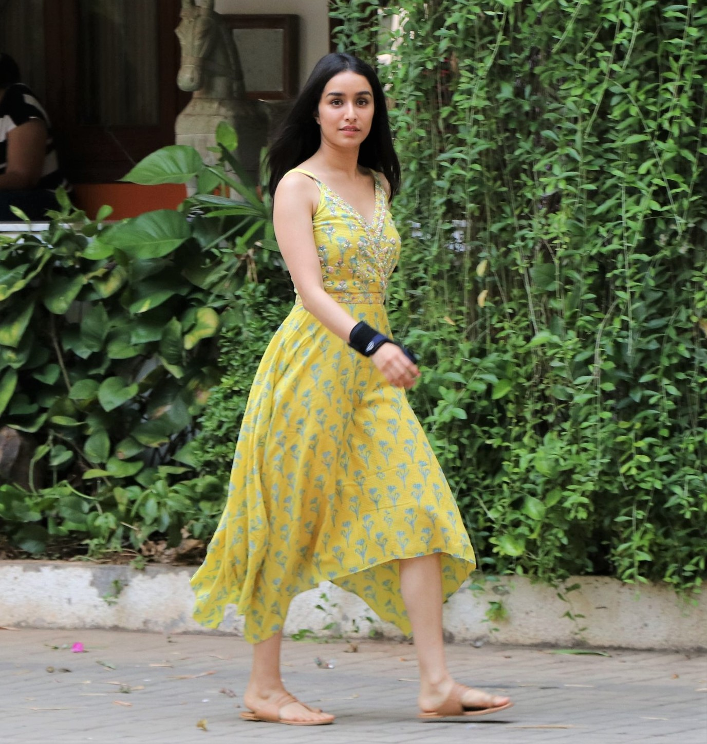 Shraddha Kapoor is a Summery Beauty in Yellow Florals!