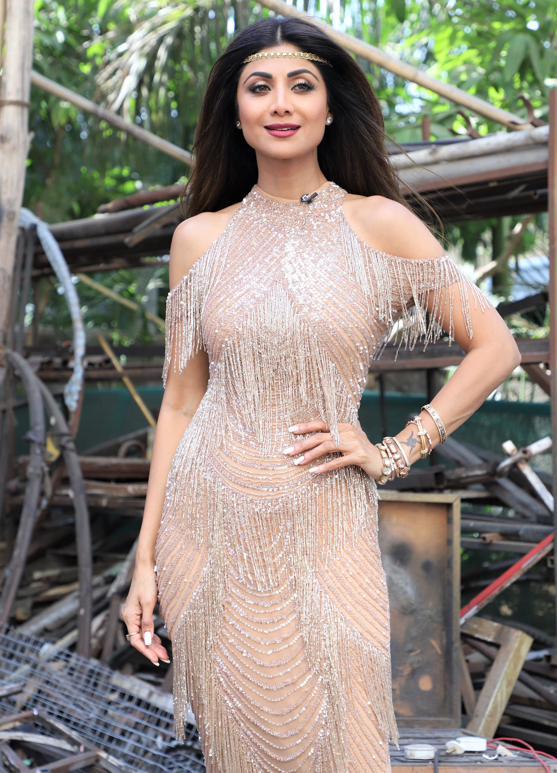 Shilpa Shetty is a Stunner in Flapper-Inspired Fashion!