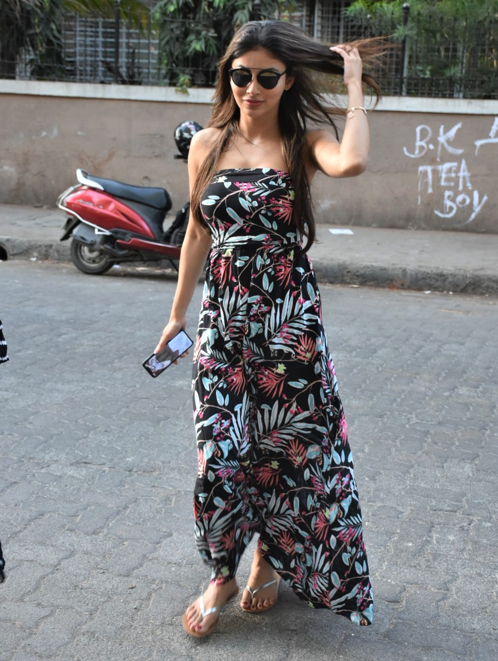 Mouni Roy Turns Up the Heat in a Summery Maxi Dress
