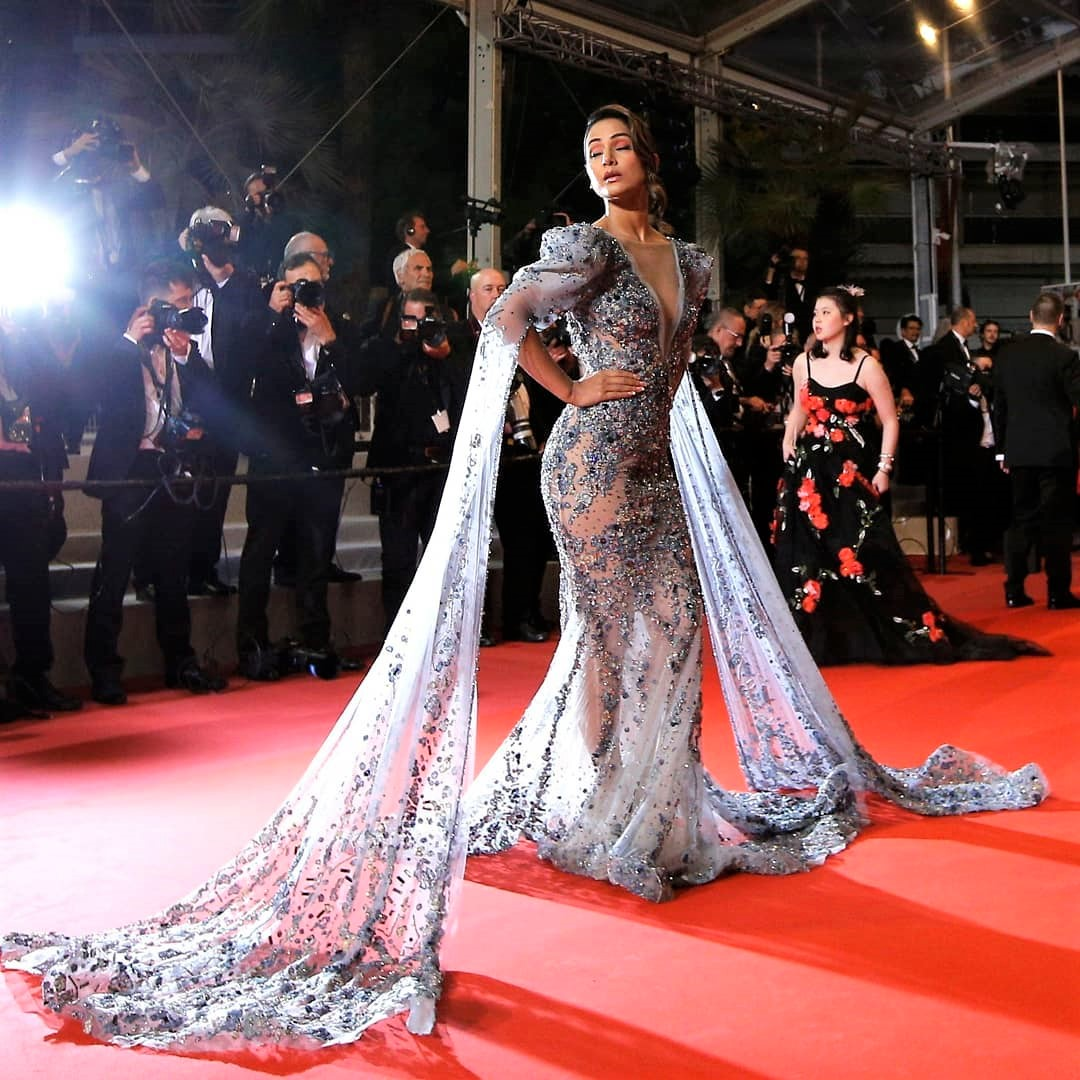 Cannes 2019: TV Star Hina Khan Makes Her Debut on the Red Carpet!