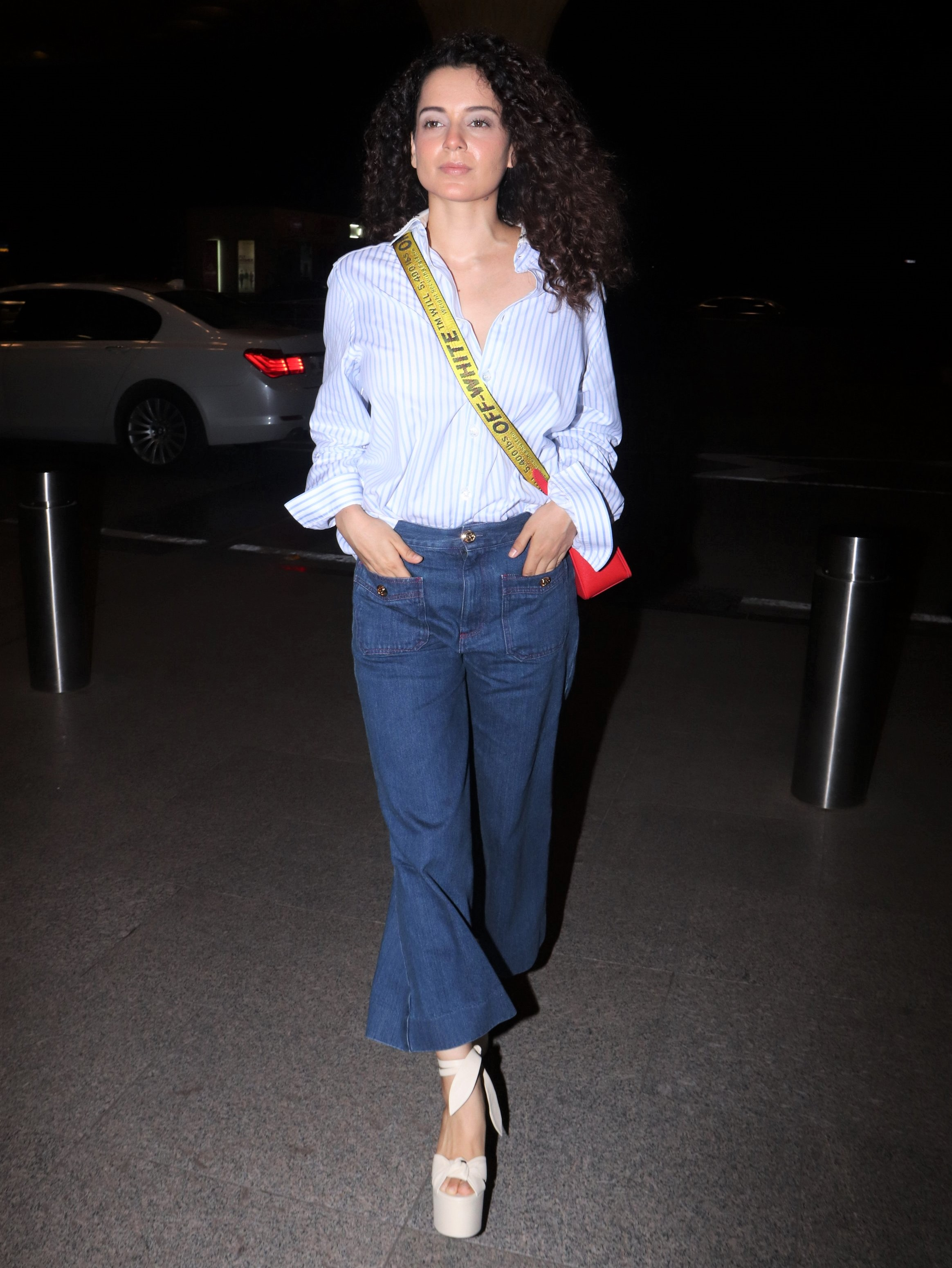 Cannes 2019: Kangana Ranaut Shows off Casual Airport Fashion Before Her Red Carpet Appearance