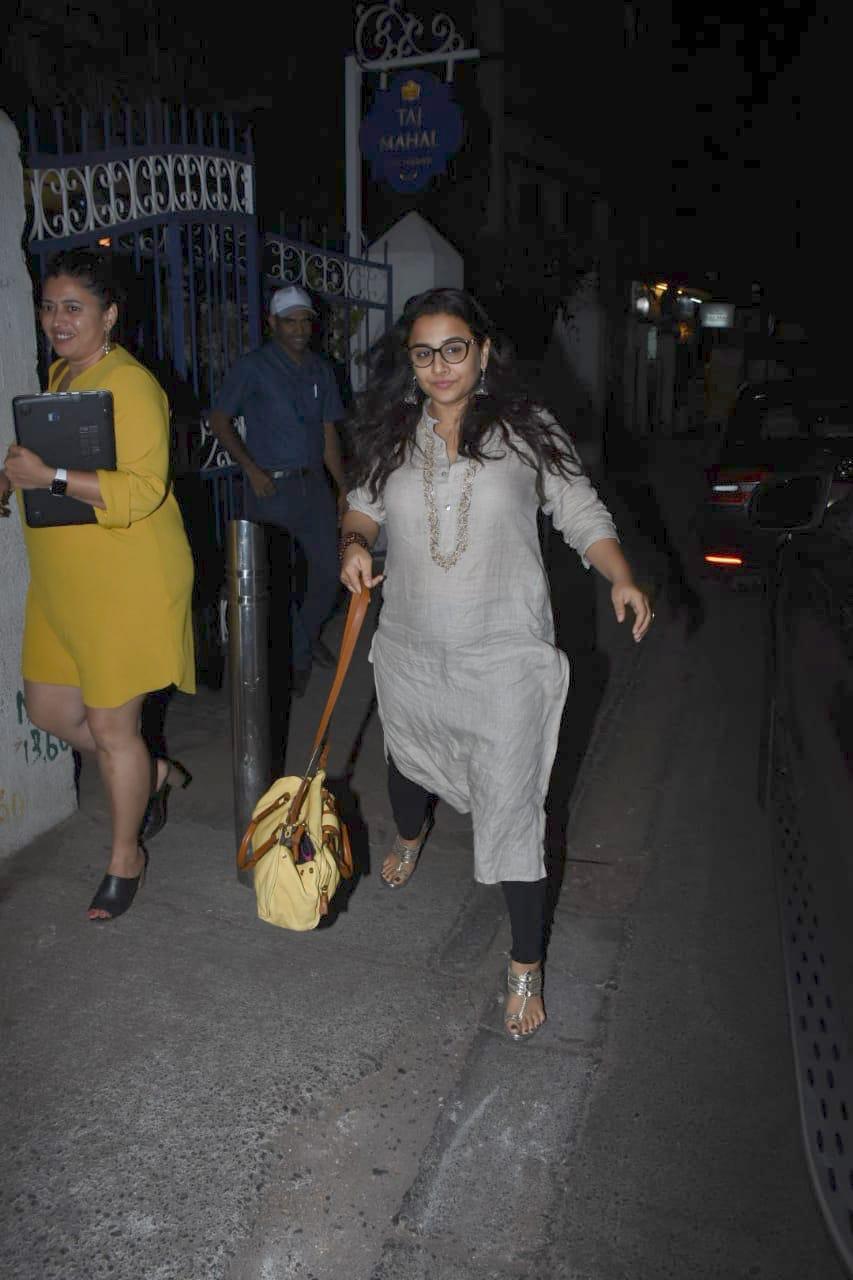 Vidya Balan Keeps It Casual, See Pics