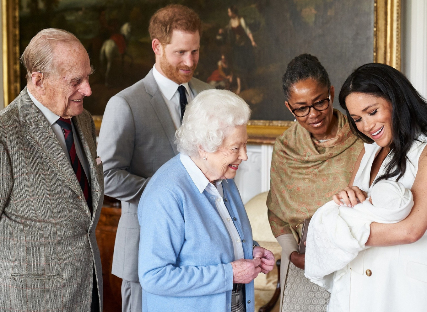 When Archie first met the Queen