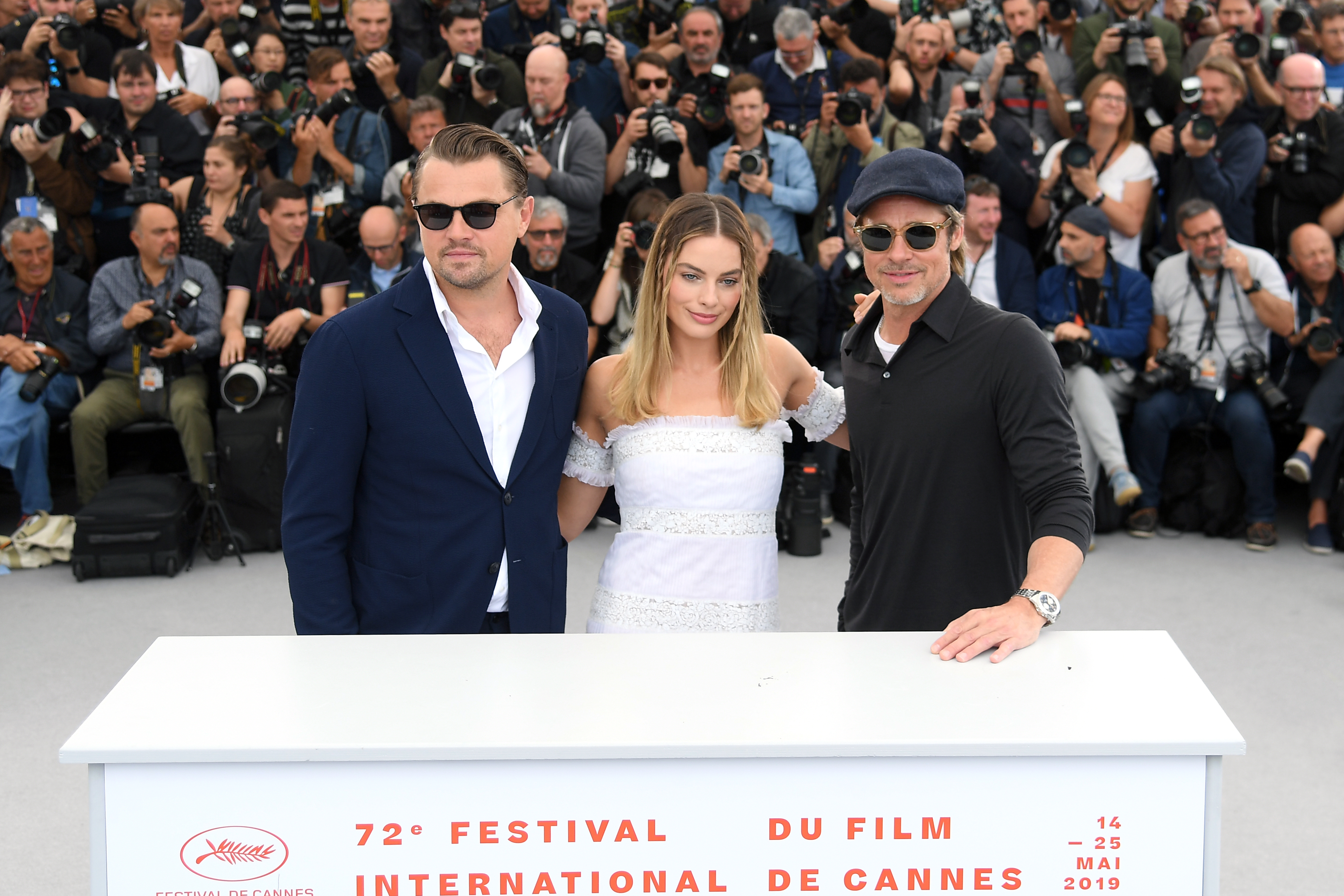 Brad Pitt and Leonardo DiCaprio at Cannes 2019 is Everything You Hoped For