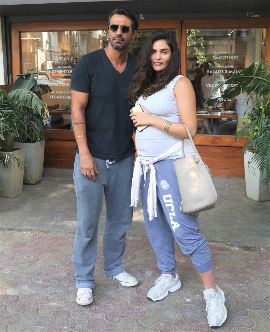 Arjun Rampal and Gabriella Demetriades Are Still Stylish in Tracks!