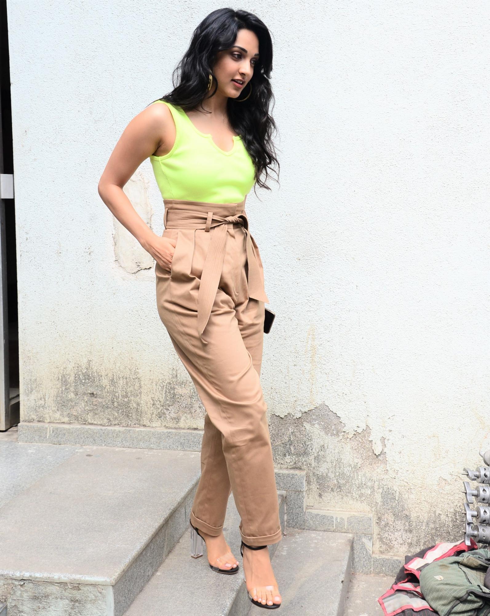Kiara Advani Flaunts the Neon Green Look